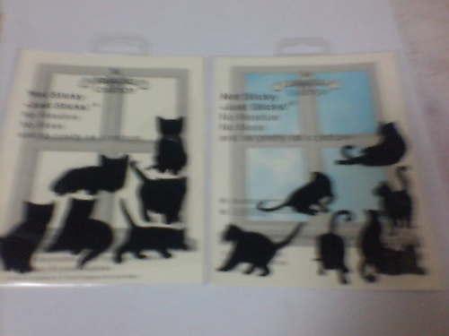 黒猫なのか影なのか・・。